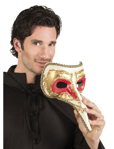 Maschera di Zanni colorata
