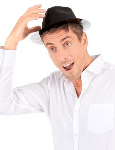 Cappello di colore nero con paillettes-2