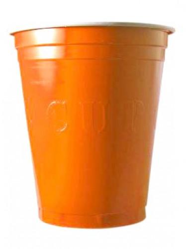 20 Bicchieri usa e getta arancioni Original Cup™