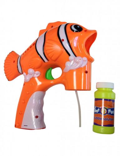 Pistola spara bolle a forma di pesce pagliaccio
