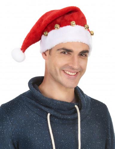 Cappello con sonagli Babbo Natale-1