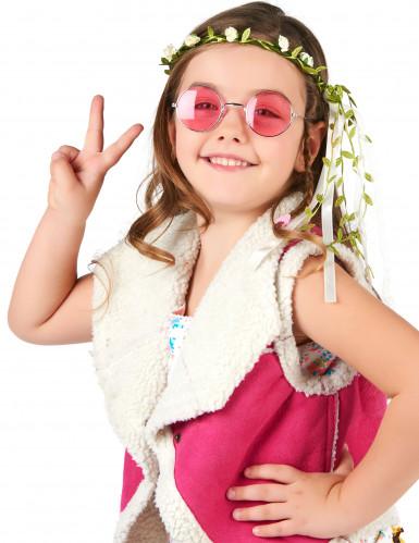 Coroncina con fiori bianchi per bambina