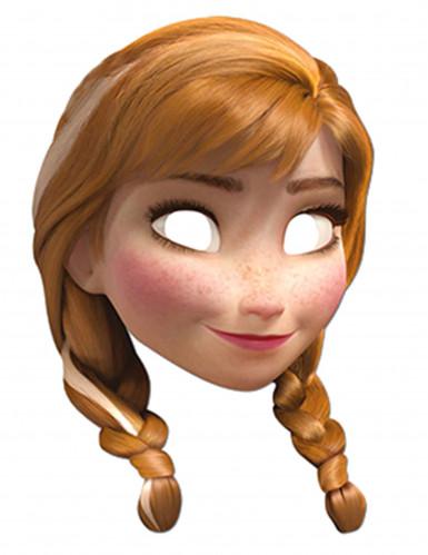 Maschera in cartoncino Anna Disney Frozen™