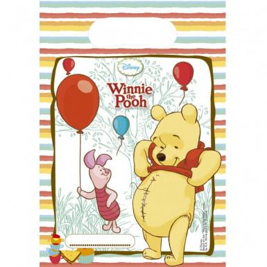 6 Buste regalo di compleanno Winnie the Pooh™