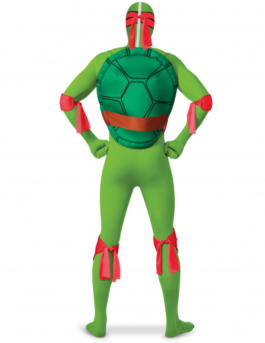 Costume seconda pelle da Tartaruga Ninja Raffaello per adulto-1