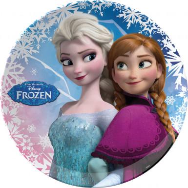 Piatto da festa La regina delle nevi originale Frozen™