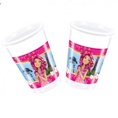 8 Bicchieri di plastica serie Mia and me™