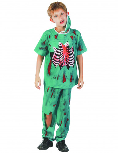 Travestimento da chirurgo zombie misura bambino