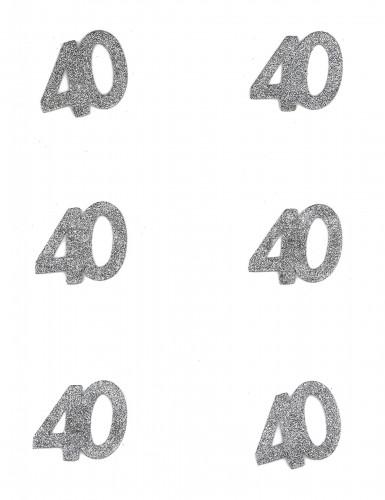 Coriandoli augurali per i 40 anni