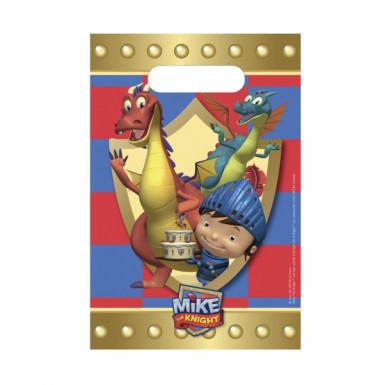 8 bustine porta-caramelle di Mike il cavaliere™