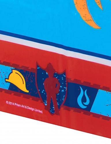 Tovaglia di plastica blu Sam il pompiere™-1