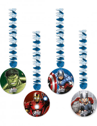 Set 4 decorazioni da appendere The Avengers™