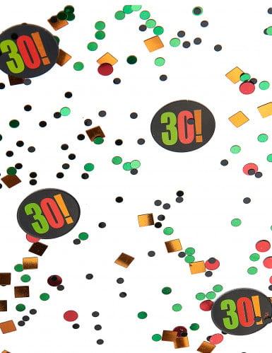 Coriandoli per festa di 30 anni