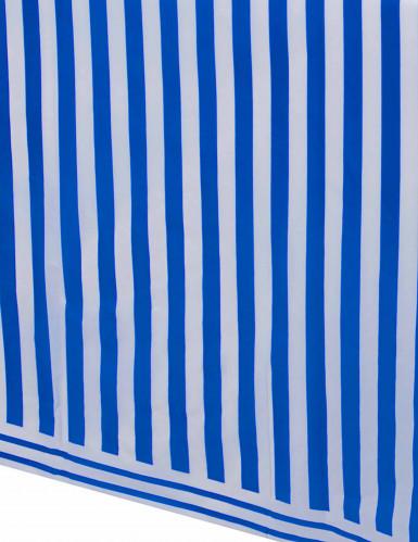 Tovaglia a strisce blu e bianco-1