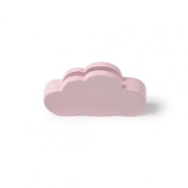 3 segnaposto nuvola rosa 5,5 x 3 cm