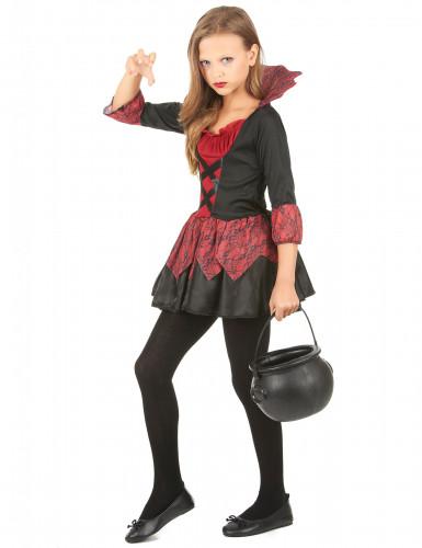 Costume per bambina da vampiro-1