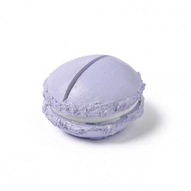Segnaposto a forma di macaron in resina color lavanda