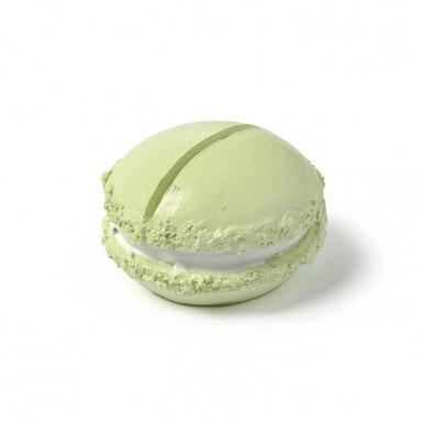 Segna posto in resina a forma di macaron verde