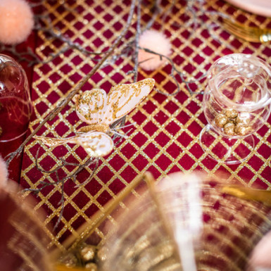 Contenitore in vetro per caramelle su piedistallo alto 12 cm-2