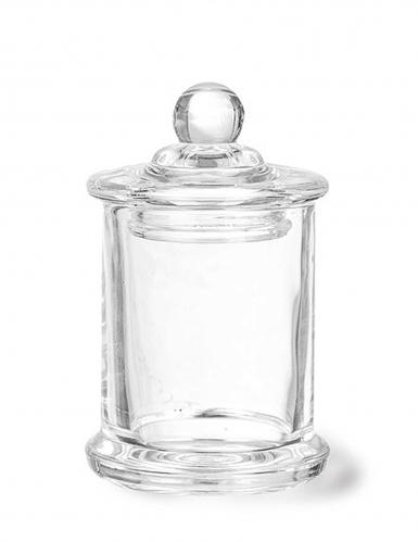Piccola bomboniera per confetti in vetro 9 x 5.6 cm