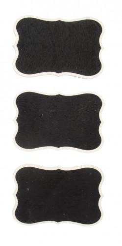 3 mini lavagne forma vintage 7 x 5 cm