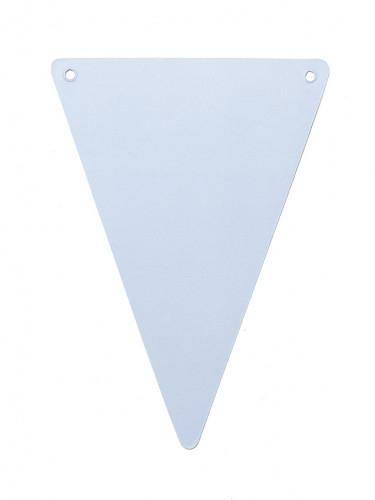 5 bandiere blu cielo in cartone