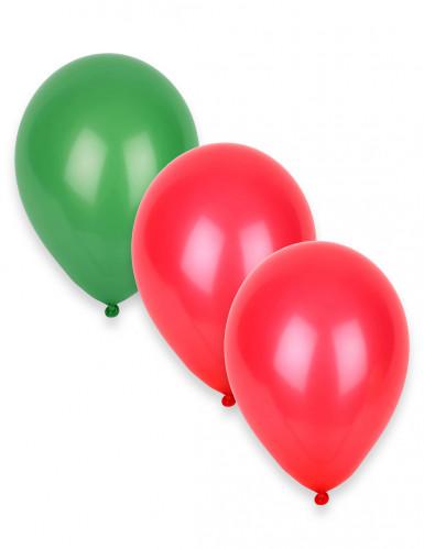 12 palloncini con colori del Portogallo