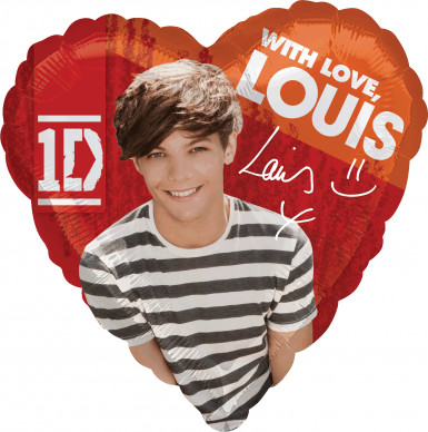 Palloncino alluminio Louis One Direction™
