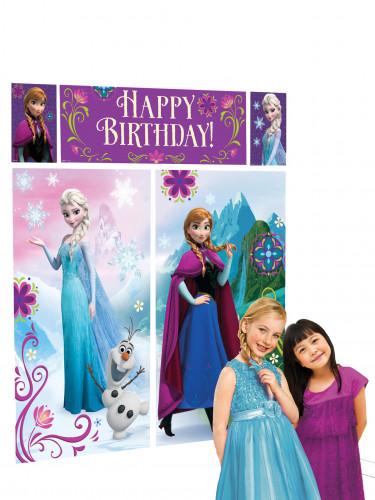 5 Decorazioni murali Frozen <br />- Il Regno di Ghiaccio™