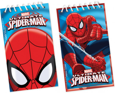 Confezione da 12 Block-notes Spiderman™