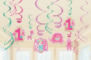 12 sospensioni a spirale un anno per bambina