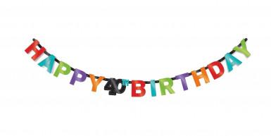 Ghirlanda per i 40 anni Happy Birthday
