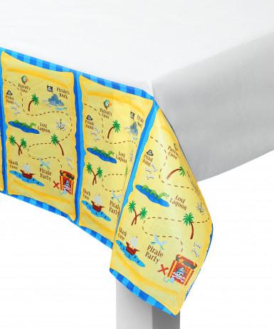 Tovaglia in plastica raffigurante una mappa del tesoro dei pirati