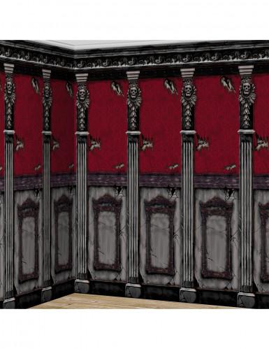 2 decorazioni murali stile gotico