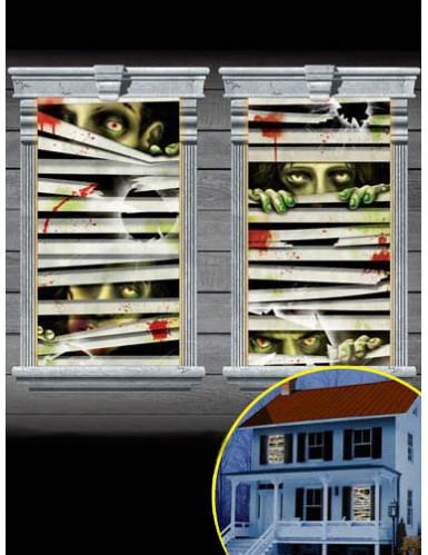 Set decorazioni finestre Zombie
