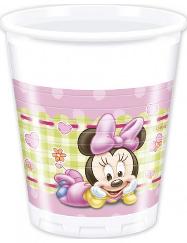 8 Bicchieri di plastica originali Baby Minnie™