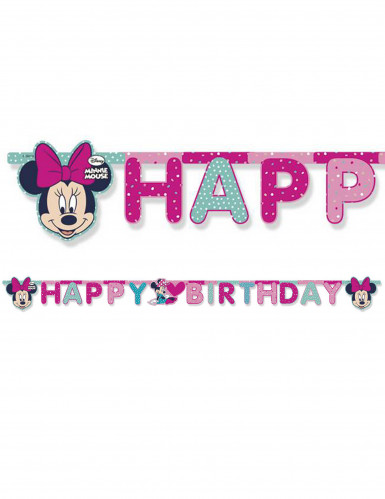 Ghirlanda Happy Birthday di Minnie