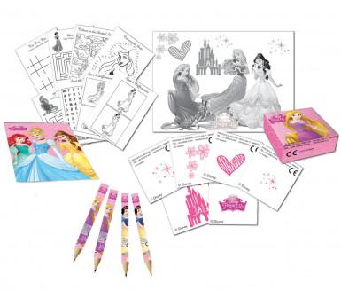 Kit da disegno per compleanno Principesse Disney™