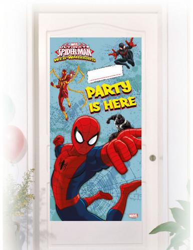 Decorazione per porte con adesivo di Spiderman™