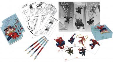 Kit da disegno personalizzato con Spiderman