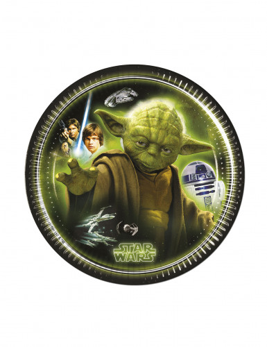 Confezione 8 piatti di carta Star Wars™
