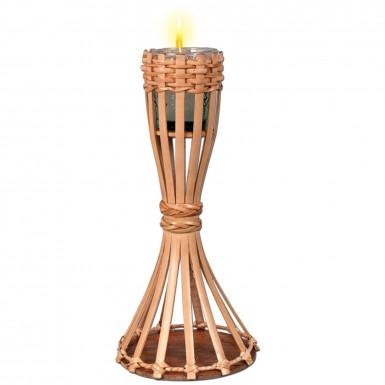 Decorazione da tavolo torcia in bambù