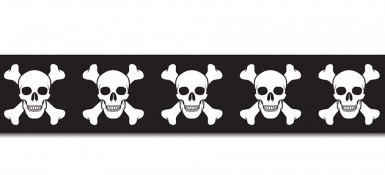 Nastro in plastica pirata