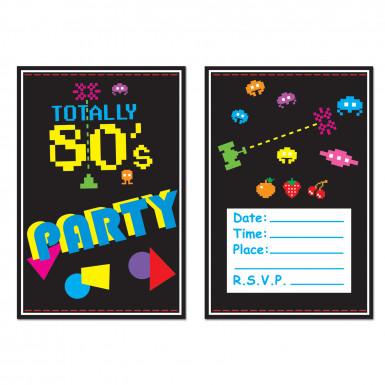 8 inviti Anni '80