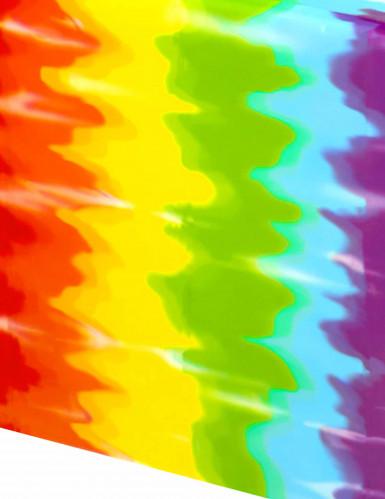 Tovaglia di plastica in stile hippie 137 x 274 cm-1
