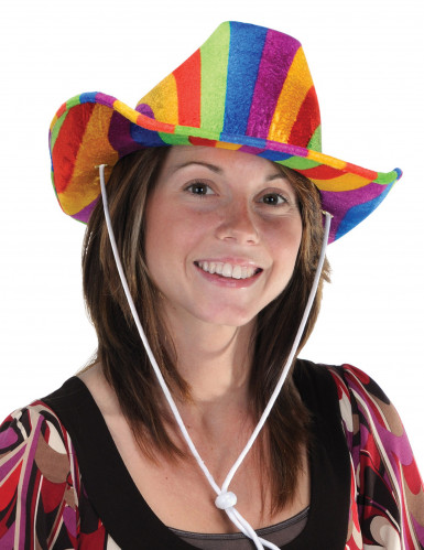 Cappello multicolore da cowboy