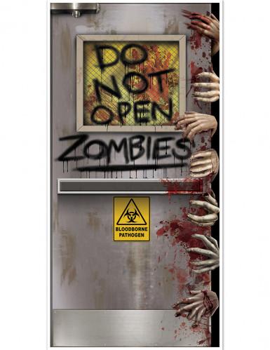 Decorazione da porta Laboratorio Zombie