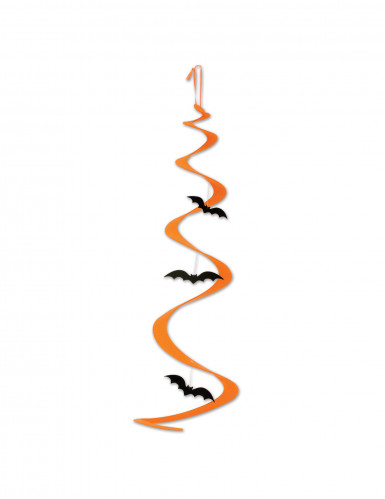 Addobbo a spirale pipistrelli Halloween