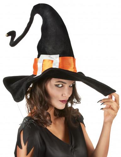 Cappello da strega con ragno Halloween-1