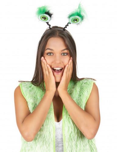 Un cerchietto con gli occhi verdi per Halloween-1